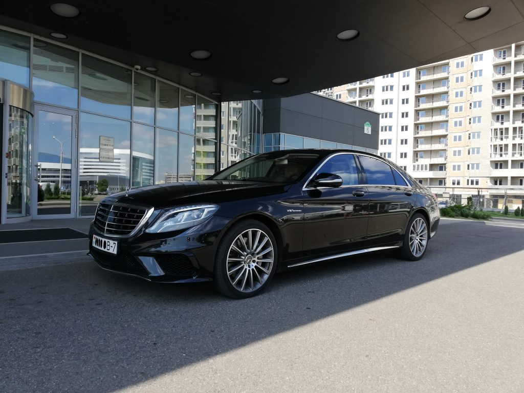 Car Rental With Car Seat >> Rent Mercedes-Benz S500 S222 AMG Long 2015 black in Minsk